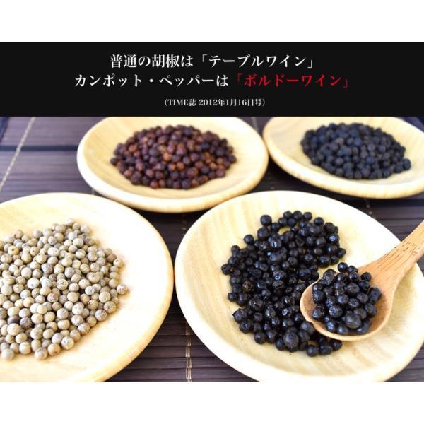 カンポット・ペッパー 生胡椒 30g + 黒胡椒 20g クリックポスト送料無料|shougakoubou|02