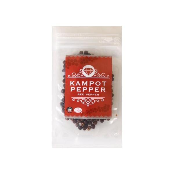 カンポット・ペッパー 赤胡椒 20g 1袋 クリックポスト 送料無料|shougakoubou