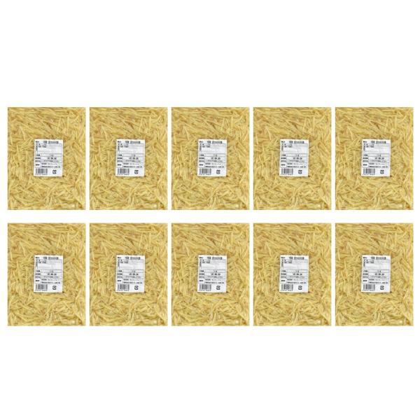 冷凍 皮付ききざみ生姜 1kg×10パック 中国産 一次加工品