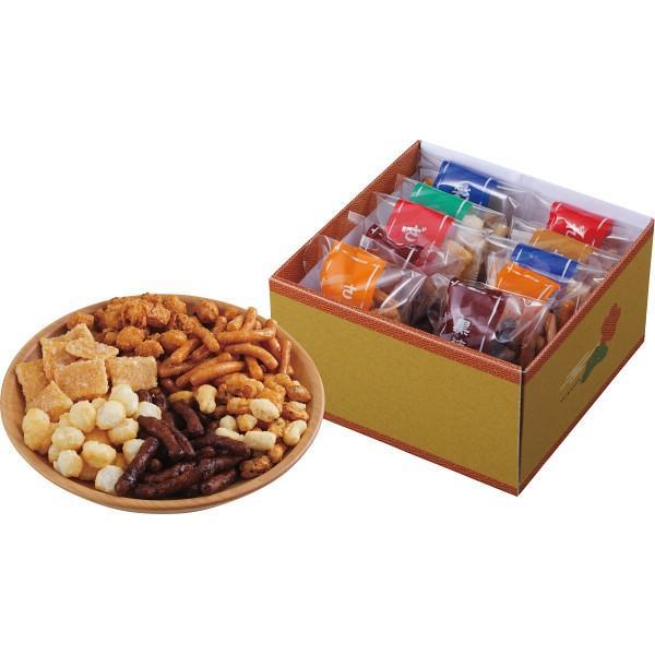 おかき・かりんとう詰合せ「菓撰」 (ES−BE) 21-7638-040 お菓子 和菓子 ギフト セット 詰め合わせ 内祝 快気祝 ご法事