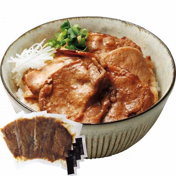 お取り寄せグルメ 帯広名物 ぶた八の豚丼の具(4食) メーカー直送 ボリューム お得で美味しい 食品|shoujikidou