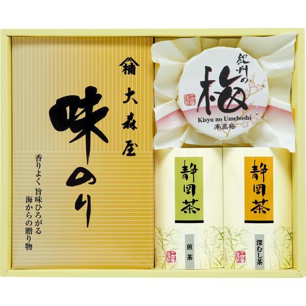 香味彩々 (NK−25) 味海苔 海苔 のり 梅干し 日本茶 ギフト 御礼 内祝い 快気祝 ご法事 香典返し