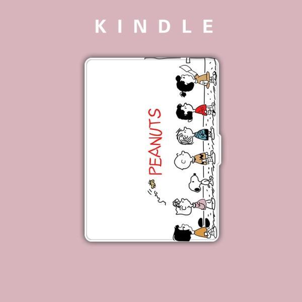 キャラクター Kindle Paperwhite カバー キンドルペーパーホワイト ケース レザー ケース マグネット|shoukouyafuushop