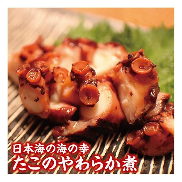 庄内浜の恵み3点セット タコのやわらか煮 ばい貝のうま煮 いか塩辛 冷凍便|shounai-iimonoya|03