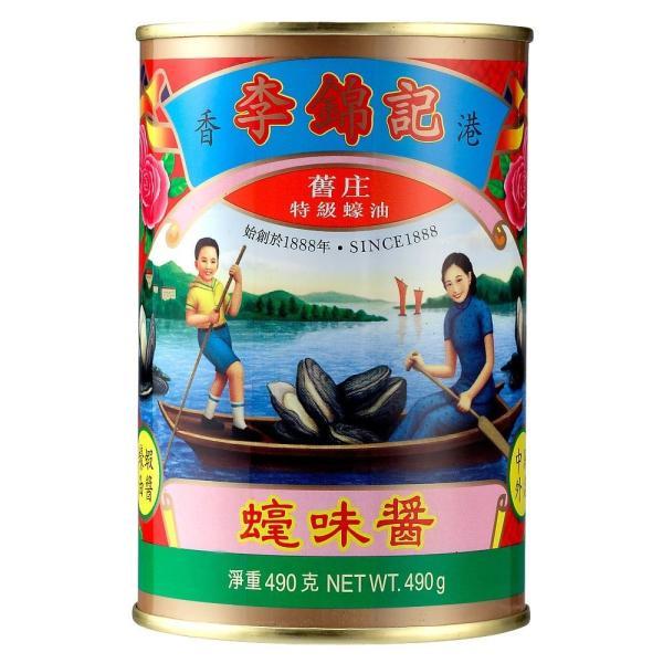 李錦記 オイスターソース 赤缶 490g 業務用 リキンキ