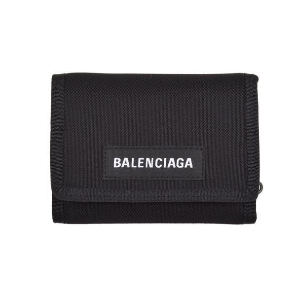 online retailer e0632 cdce1 BALENCIAGA バレンシアガ 三つ折財布 イタリア正規品 507481 9TYY5 1000 新品