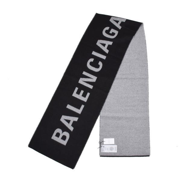 BALENCIAGA バレンシアガ  ロゴマフラー イタリア正規品 新品 512732 320B0 1077