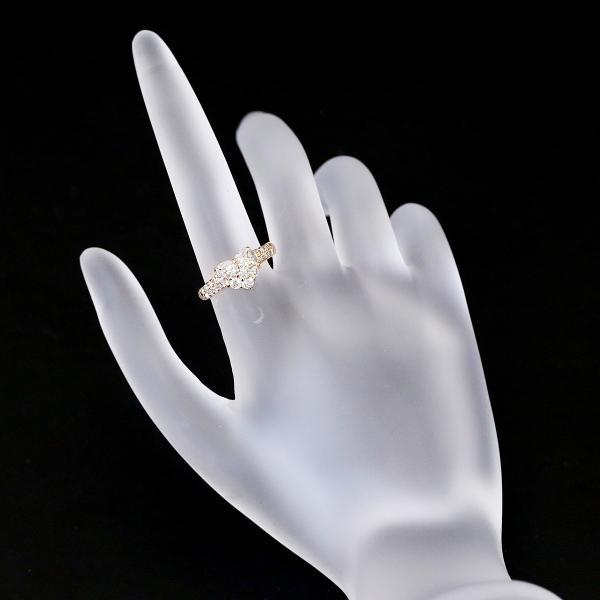 【SH45984】ダイヤモンド リング 0.82ct K18ピンクゴールド ハート【中古】|sht-ys|02