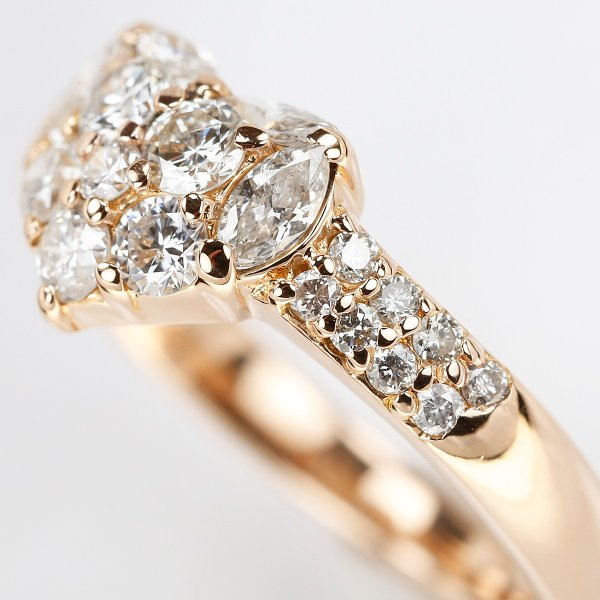 【SH45984】ダイヤモンド リング 0.82ct K18ピンクゴールド ハート【中古】|sht-ys|04