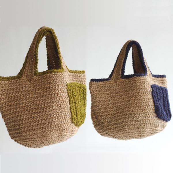 編み図 ポケットトートバッグ Y15-2 | 手芸 ハンドメイド トーカイ|shugale1