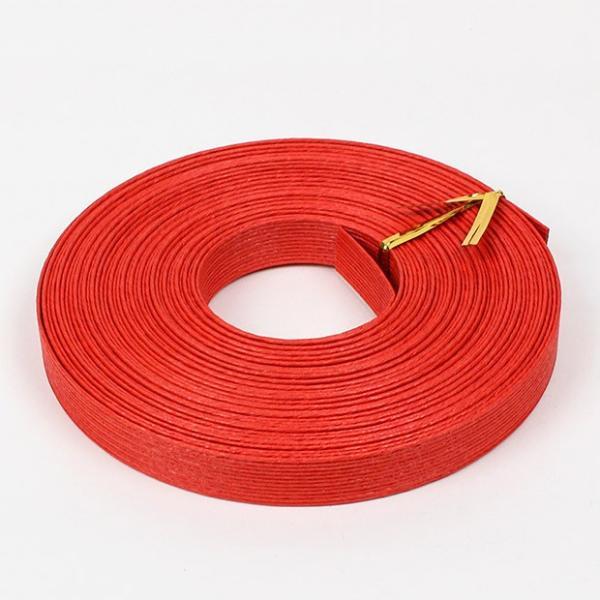 エコクラフト あみんぐテープ 【10m巻】 109 赤 アミングテープ エコクラフトテープ 紙バンド トーカイ