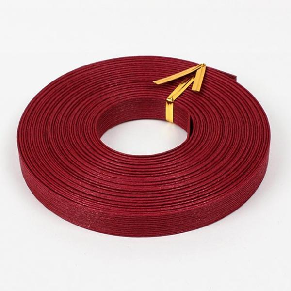 エコクラフト あみんぐテープ 【10m巻】 111 ワイン|アミングテープ エコクラフトテープ 紙バンド トーカイ