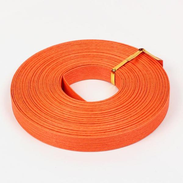 エコクラフト あみんぐテープ 【10m巻】 118 オレンジ|アミングテープ エコクラフトテープ 紙バンド トーカイ
