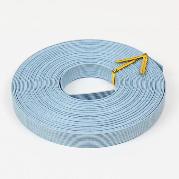 エコクラフト あみんぐテープ 【10m巻】 119 アクアブルー|アミングテープ エコクラフトテープ 紙バンド トーカイ