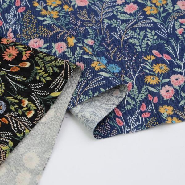 コットンこばやし FlowerGarden ツイル KTS6492   生地 1m単位の切売り 布 布地 花柄 フラワープリント北欧風 服地 綿 綿100% コットン 花柄 shugale1 04