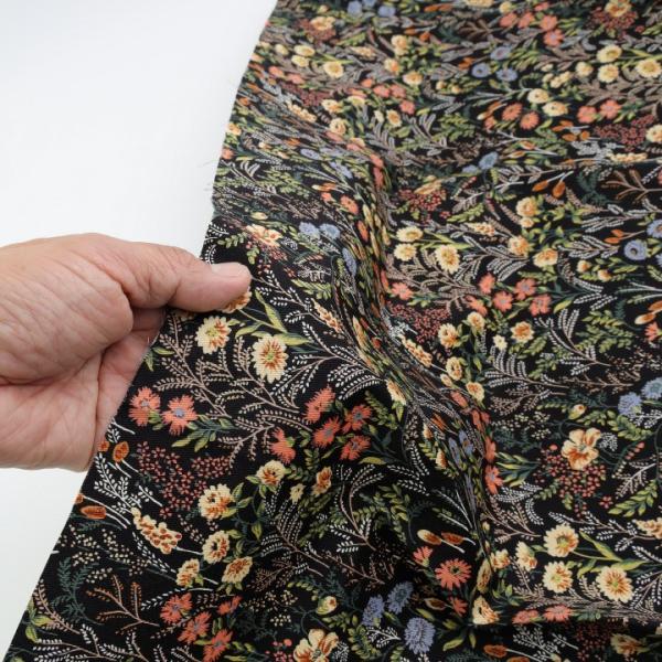 コットンこばやし FlowerGarden ツイル KTS6492   生地 1m単位の切売り 布 布地 花柄 フラワープリント北欧風 服地 綿 綿100% コットン 花柄 shugale1 05