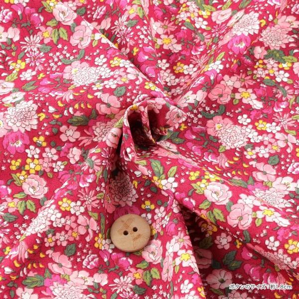 コットンこばやし フラワー2 ブロード (1m単位)|切売り 生地 布 布地 綿 コットン 綿100 花柄 フラワー柄 フラワープリント トーカイ|shugale1|03
