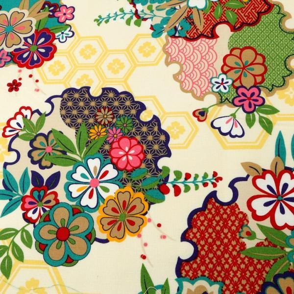 彩華物語 古典 CB (1m単位) 切売り 生地 布 布地 綿 コットン 綿100 和柄 和風 伝統文様 shugale1 02
