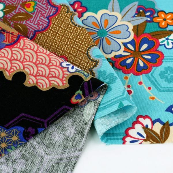 彩華物語 古典 CB (1m単位) 切売り 生地 布 布地 綿 コットン 綿100 和柄 和風 伝統文様 shugale1 04