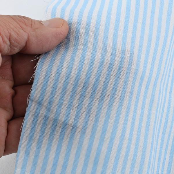ゆめふわカラー ストライプ ダブルガーゼ (1m単位) 切売り 生地 布 布地 綿 コットン 綿100% Wガーゼ ガーゼ 縞 シマ 顔料プリント shugale1 05
