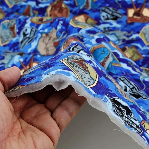 ジュラシック・ワールド オックスキルト (50cm単位)|切売り 布 布地 生地 キルト キルティング 恐竜 迷彩 ジュラシックワールド|shugale1|05