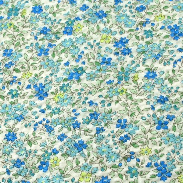 コットンこばやし フラワー ポプリンリップル (1m単位)|切売り 生地 布 布地 綿 コットン 綿100 花柄 フラワー柄 フラワープリント|shugale1|02