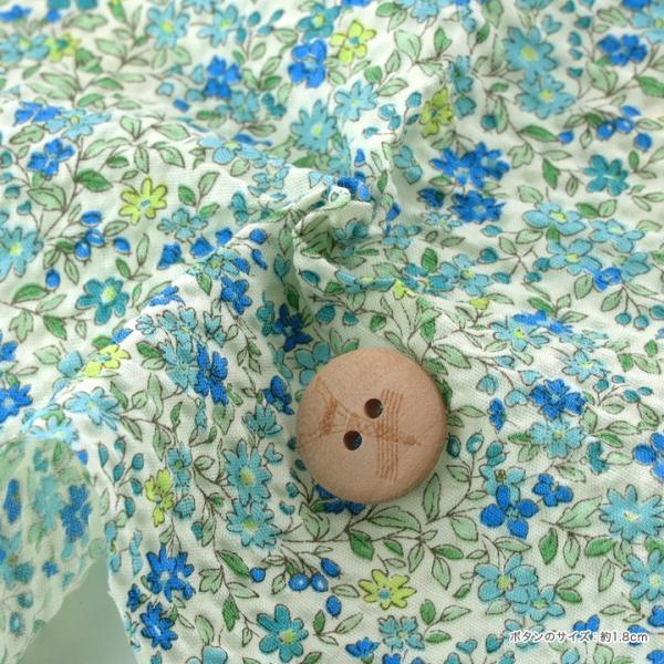 コットンこばやし フラワー ポプリンリップル (1m単位)|切売り 生地 布 布地 綿 コットン 綿100 花柄 フラワー柄 フラワープリント|shugale1|03