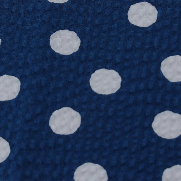 コットンこばやし ふぞろい水玉 ポプリンリップル (1m単位)|切売り 生地 布 布地 綿 コットン 綿100 水玉 ドット 浴衣 ゆかた ゆかた生地|shugale1|02
