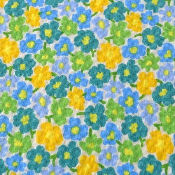 コットンこばやし 北欧調フラワーフィールド ポプリンリップル (1m単位) 切売り 生地 布 布地 綿 コットン 綿100 花柄 フラワー柄 フラワープリント shugale1 02