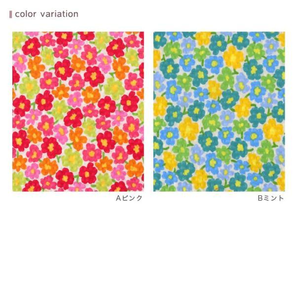 コットンこばやし 北欧調フラワーフィールド ポプリンリップル (1m単位) 切売り 生地 布 布地 綿 コットン 綿100 花柄 フラワー柄 フラワープリント shugale1 06