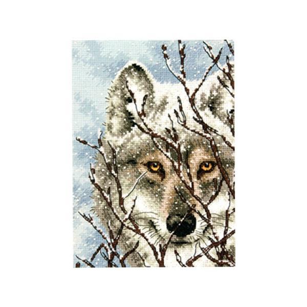 刺繍 Dimensions Wolf|刺しゅうキット クロスステッチ GOLDCOLLECTION PETITES|shugale1