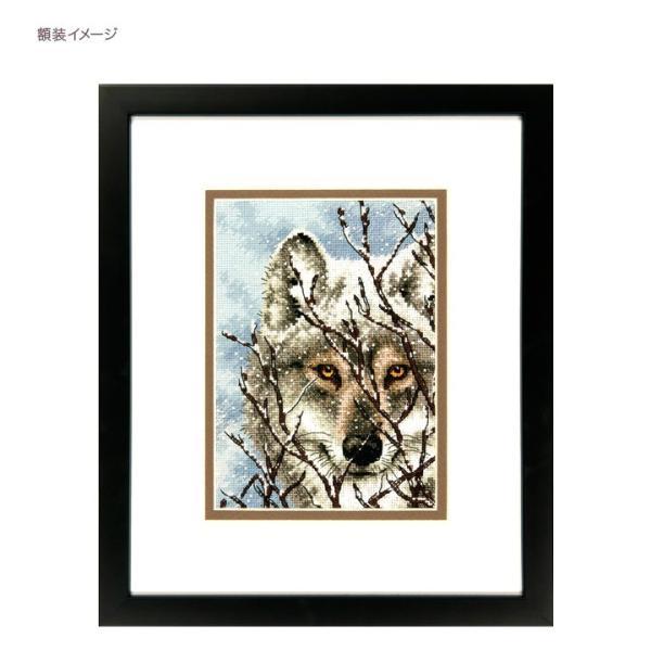 刺繍 Dimensions Wolf|刺しゅうキット クロスステッチ GOLDCOLLECTION PETITES|shugale1|03
