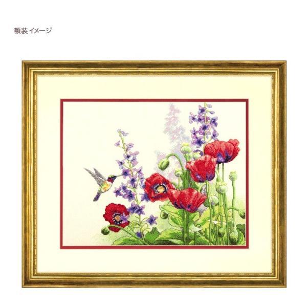 刺繍 Dimensions Hummingbird & Poppies 刺しゅうキット クロスステッチ shugale1 03