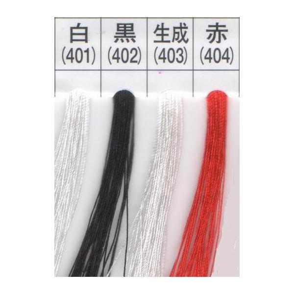 タイヤー 絹ミシン糸/ハブ糸 (白・黒・生成・赤) #50/130m