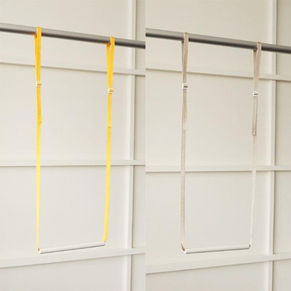 5本までメール便対応 クローゼット収納 クローゼットブランコW25 洋服の選びやすさ&収納効率UP 簡単に2段バーができる|shuno-su|04