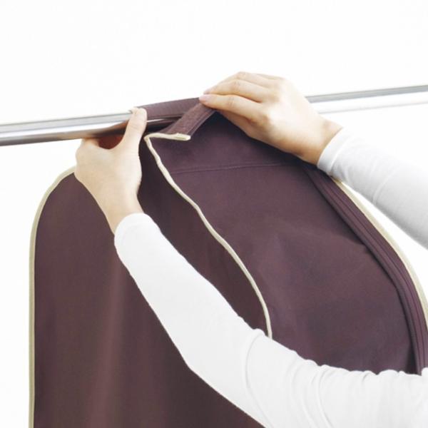 洋服カバー 4〜5枚の洋服をまとめてカバー パーソナルクローク サイズ90|shuno-su|04