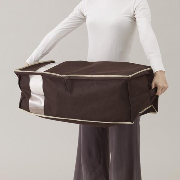 完売御礼・再入荷はございません。毛布 収納袋 布団収納ケース 毛布ケース 毛布や薄手の布団など収納 ブランケットケース|shuno-su|04