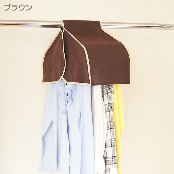 洋服カバー 衣装カバー ショルダー丈の洋服カバー 3枚までメール便対応|shuno-su