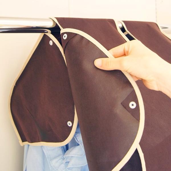 洋服カバー 衣装カバー ショルダー丈の洋服カバー 3枚までメール便対応|shuno-su|05
