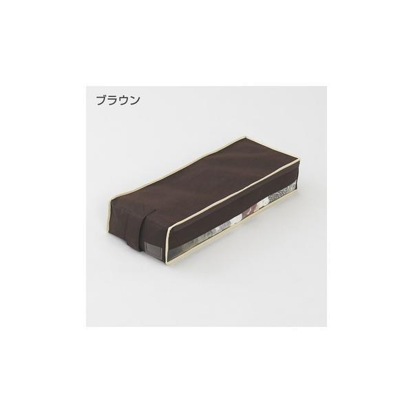 2枚までメール便対応 クローゼットのすき間収納に 不織布製のソフトケース スペースフィットケースS10|shuno-su|02