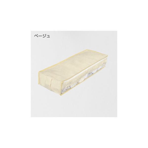 2枚までメール便対応 クローゼットのすき間収納に 不織布製のソフトケース スペースフィットケースS10|shuno-su|03