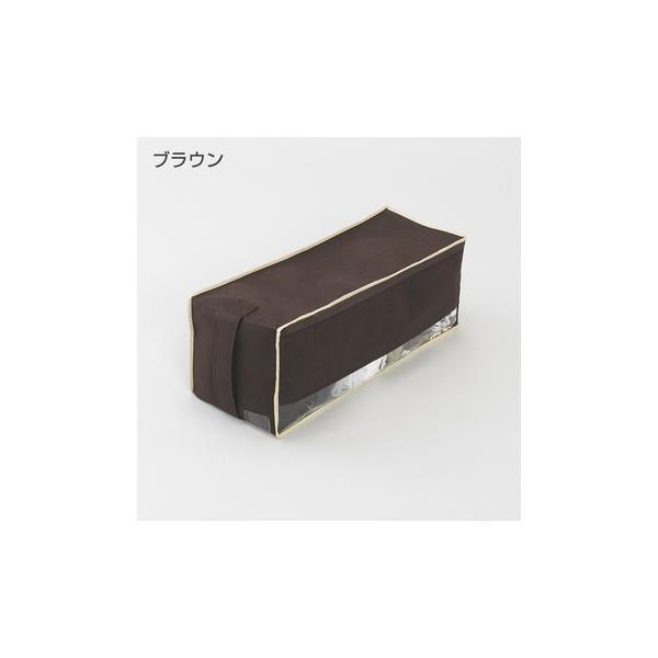 2枚までメール便対応 クローゼットのすき間収納に 不織布製のソフトケース スペースフィットケース S20|shuno-su|02