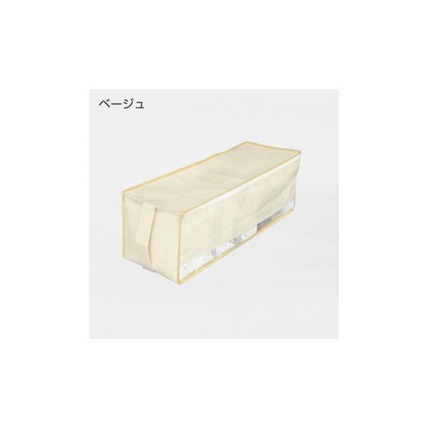 2枚までメール便対応 クローゼットのすき間収納に 不織布製のソフトケース スペースフィットケース S20|shuno-su|03