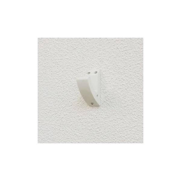 壁掛けフック 白い壁になじむホワイトフック 3個入 8セットまでメール便対応 石こうボードでも耐荷重4kg|shuno-su