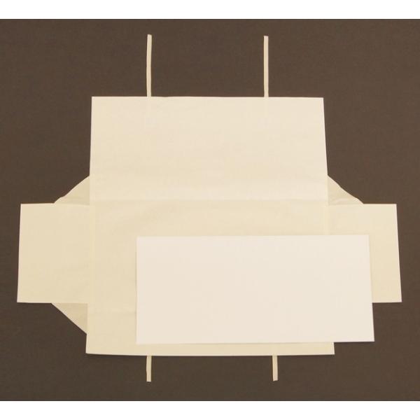たとう紙(台紙あり) 5枚入 帯用のシンプルな無地文庫紙 折らずにお届け shuno-su 03