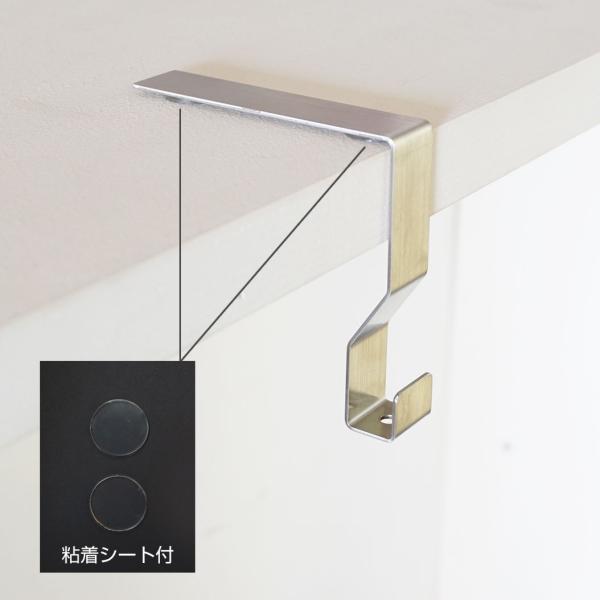 クローゼット用バーフック  コーディネートフックS フロントクローゼットシステム【別送商品】|shuno-su|02