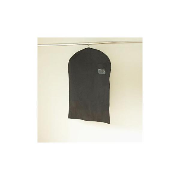 洋服カバー ブラックスタイルカバー サイズ100 2枚入|shuno-su