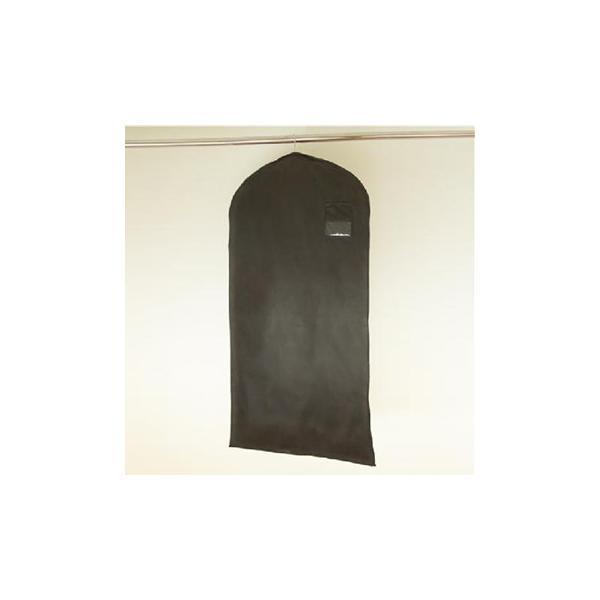 洋服カバー ブラックスタイルカバー サイズ120 10枚入|shuno-su