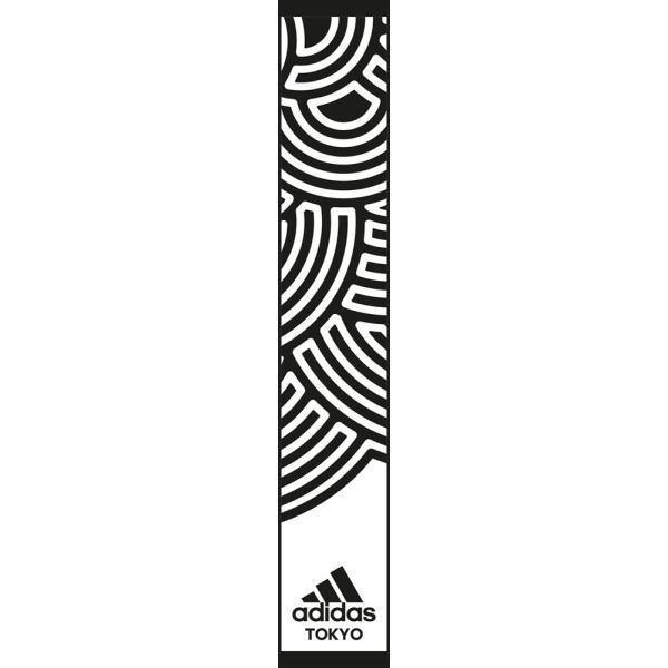 adidas アディダス TOKYO タオル IXK45 WHT/BLK