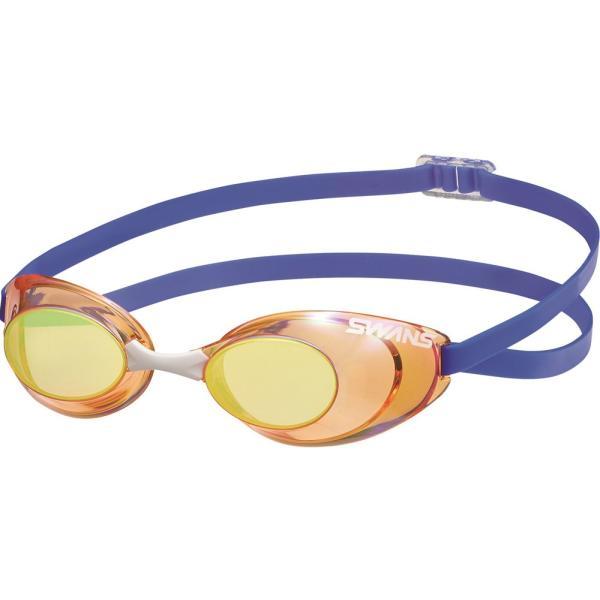 スワンズ SWANS 水泳 競泳 スイミング 水球 ゴーグル サングラス スイミングゴーグル SR10M オレンジイエロー